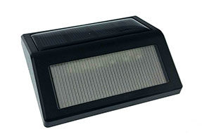 Light-Control Intelligent Lighting 0.5W Solar LED Step Light for Outdoor Step