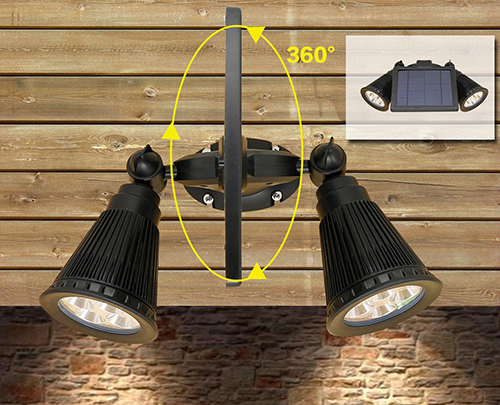 How To Install Solar Powered Led Wall Light For Outdoor Wall