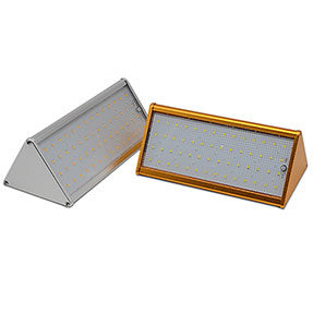 3000mAh LiFePO4 Battery Built-in 800LM Solar Wall Light with Outdoor IP65