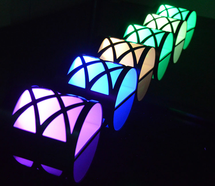 garden fence solar light