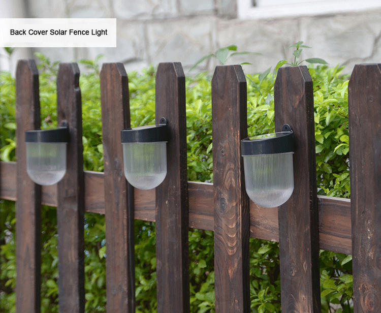 Solar-LED-Fence-Light