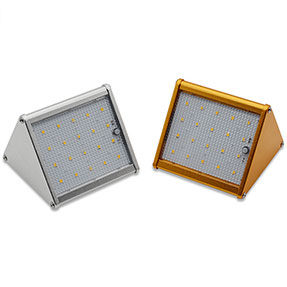 4W 20pcs LEDs 400LM Solar LED Wall Light with 1500mAh LiFePO4 Battery