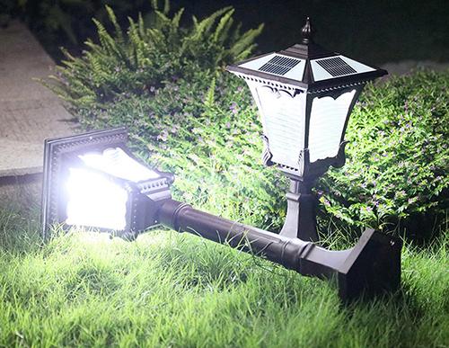 solar-powered-LED-lawn-light