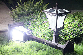 Is solar powered LED lawn light valuable to be bought for garden landscape?