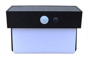 400LM Sensor Lighting 4.0W Solar Powered LED Wall Light for Tourist Spot