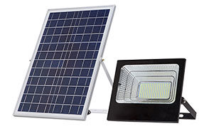 Multipurpose LED Lamp Solar Flood Light with Remote Control for Outdoor & Indoor Lighting