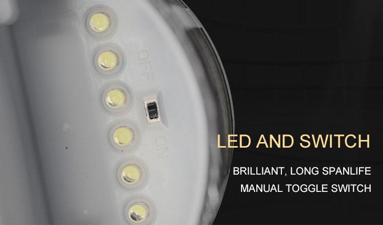 solar-powered-LED-fence-light