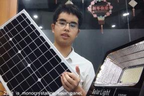 100W Wireless Solar Flood Light